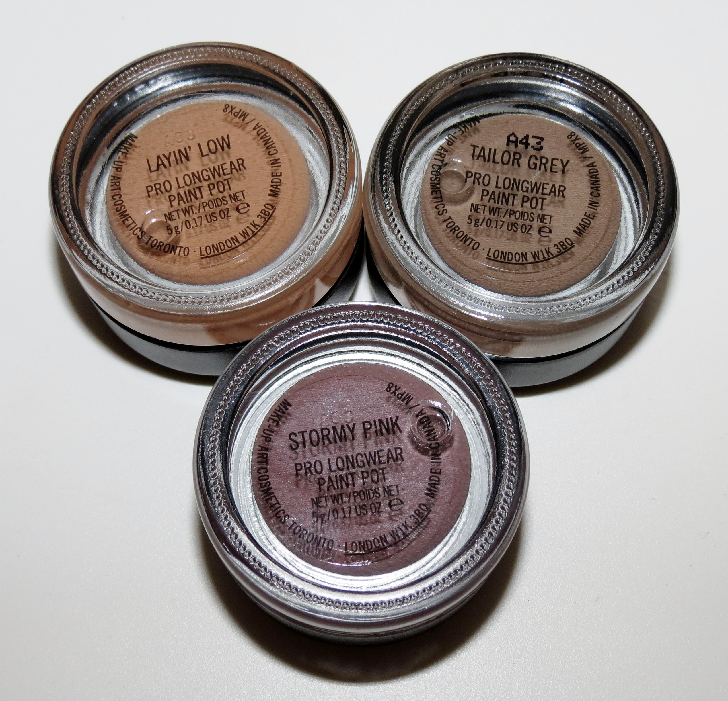 mac paint pot stormy pink review
