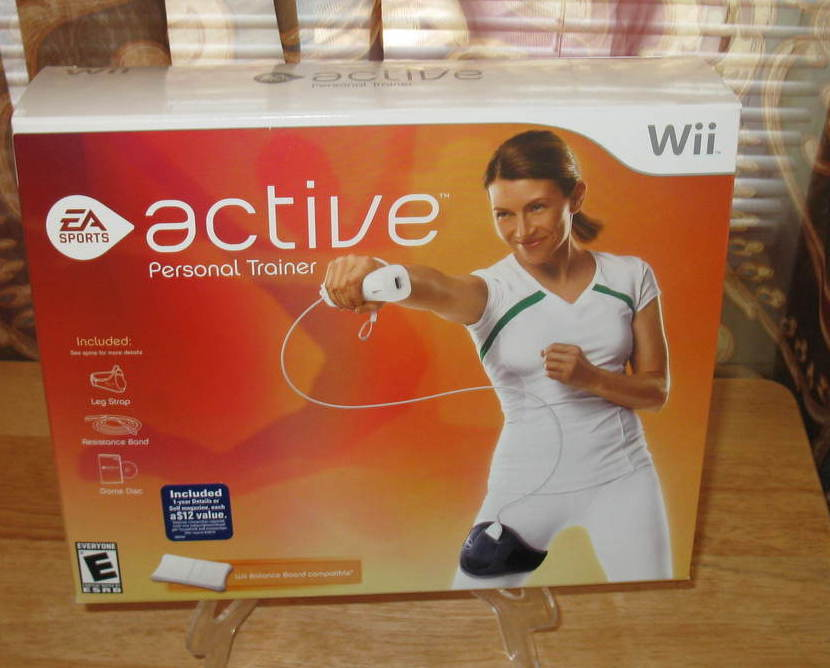 wii active personal trainer review