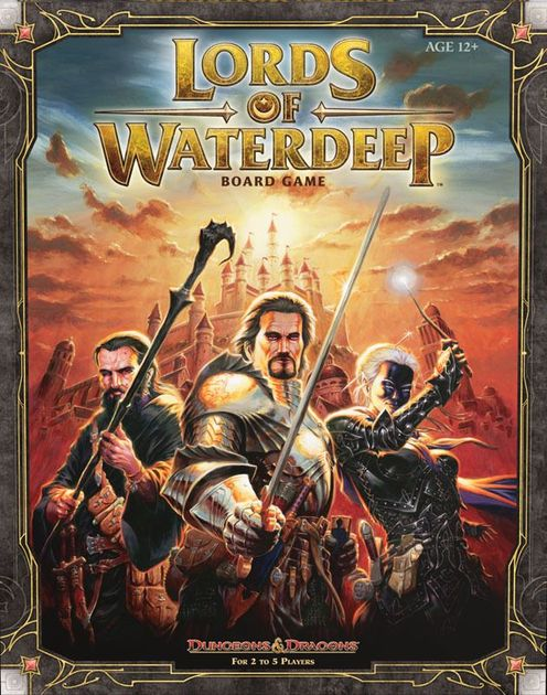 lords of waterdeep board game review