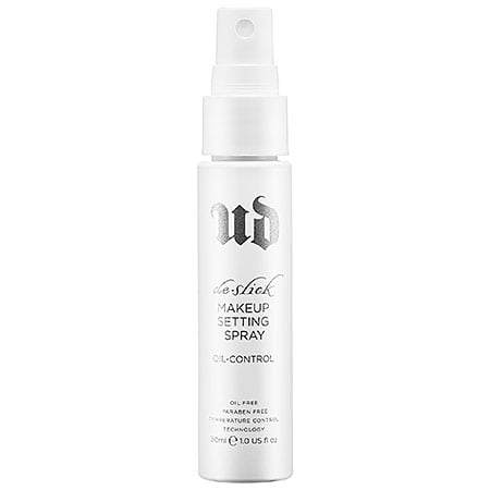 urban decay oil control makeup setting spray review