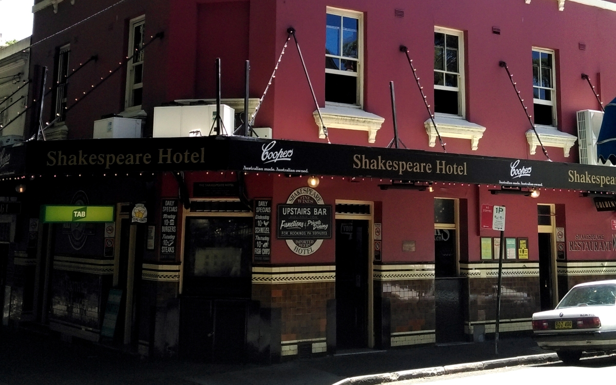 shakespeare hotel surry hills review
