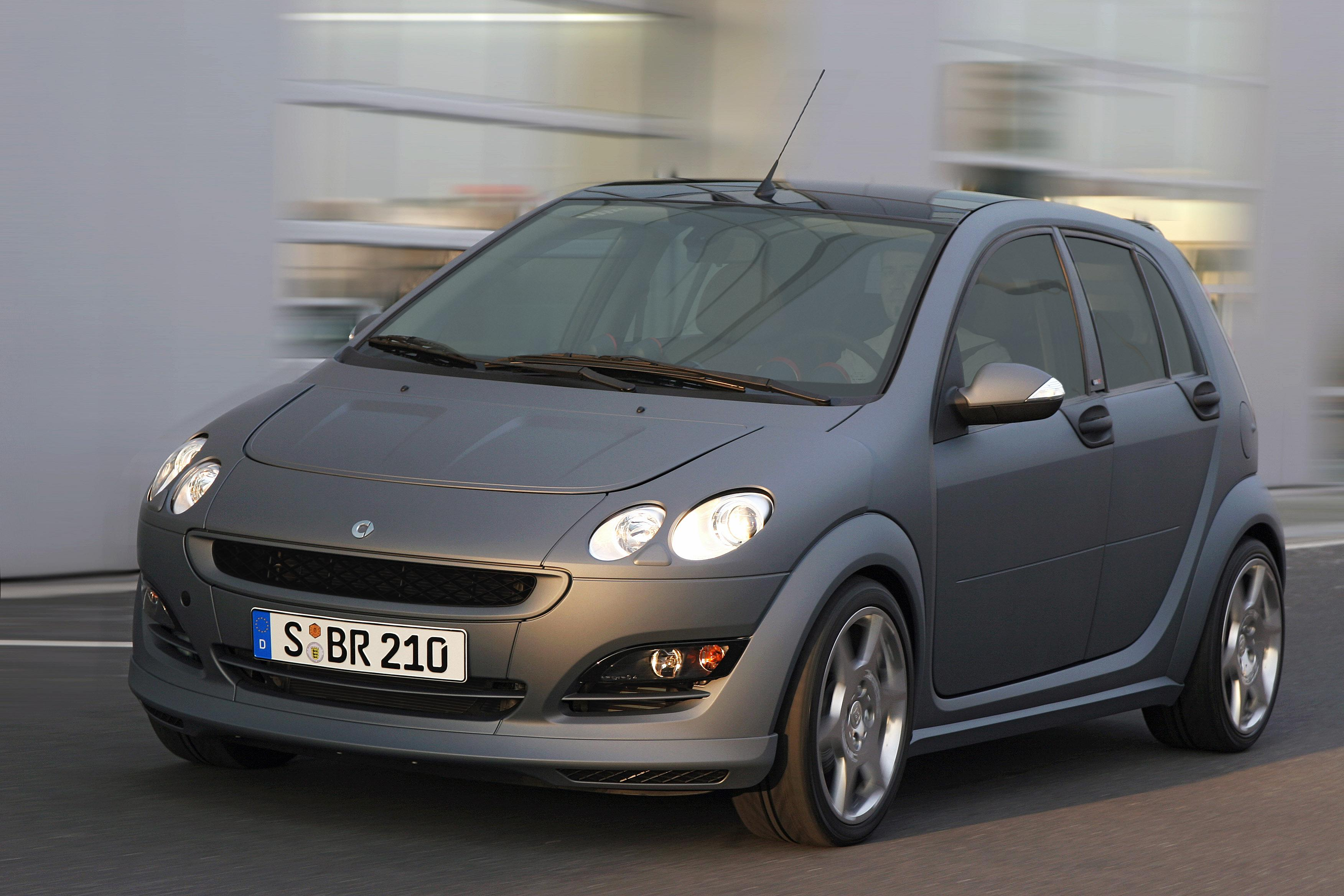 smart forfour brabus 2006 review