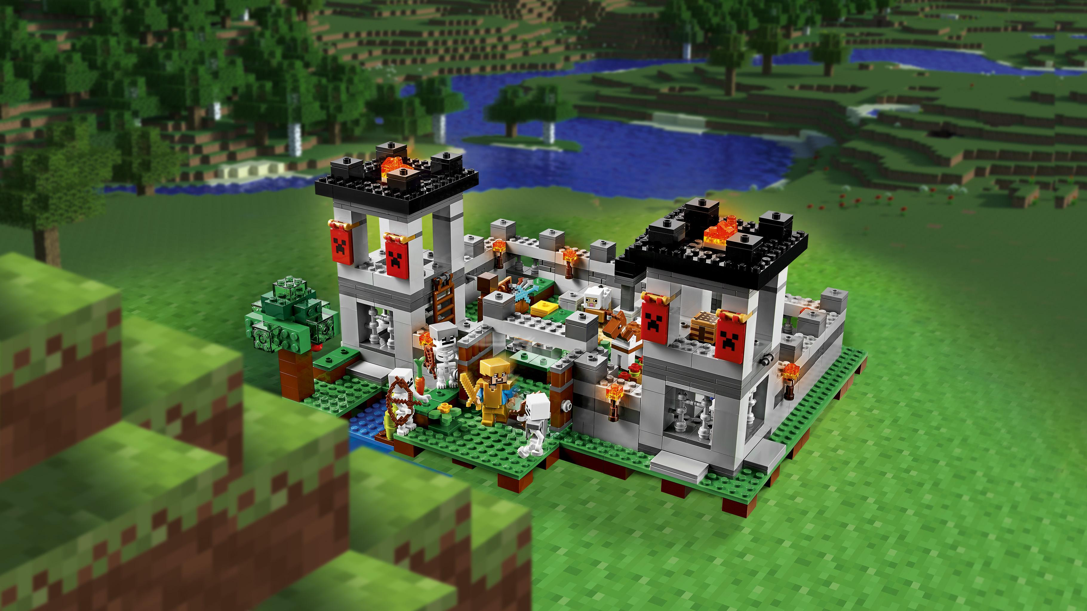 lego minecraft the fortress review