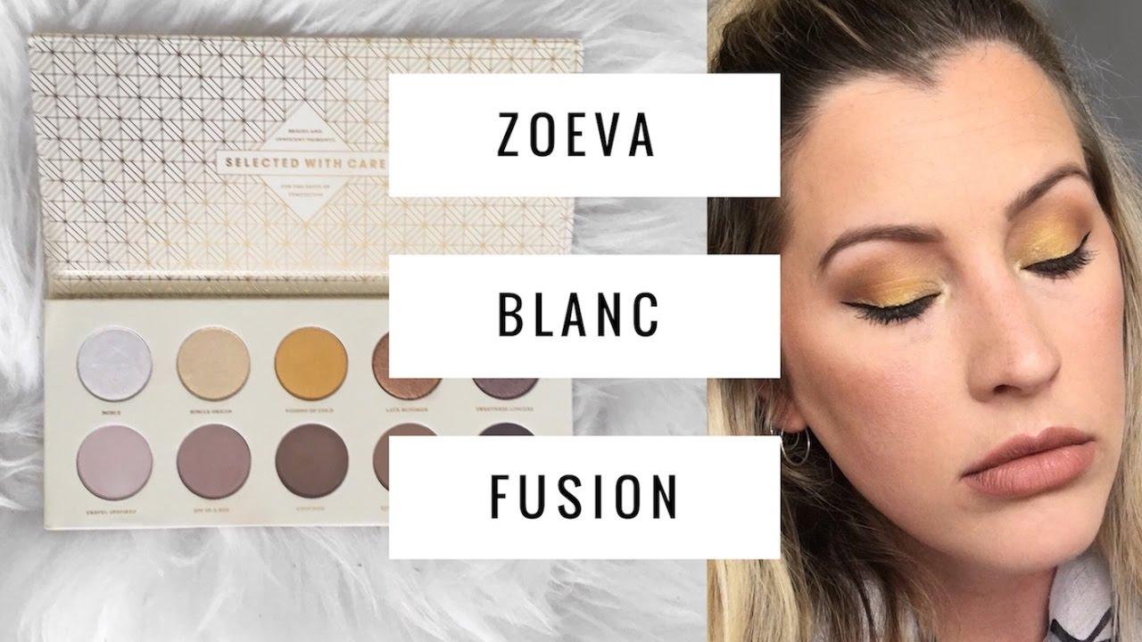 zoeva blanc fusion palette review
