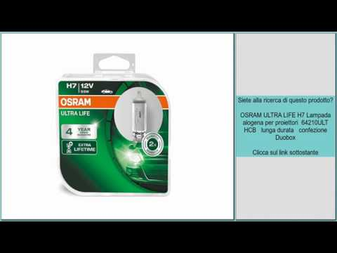 osram ultra life h7 review