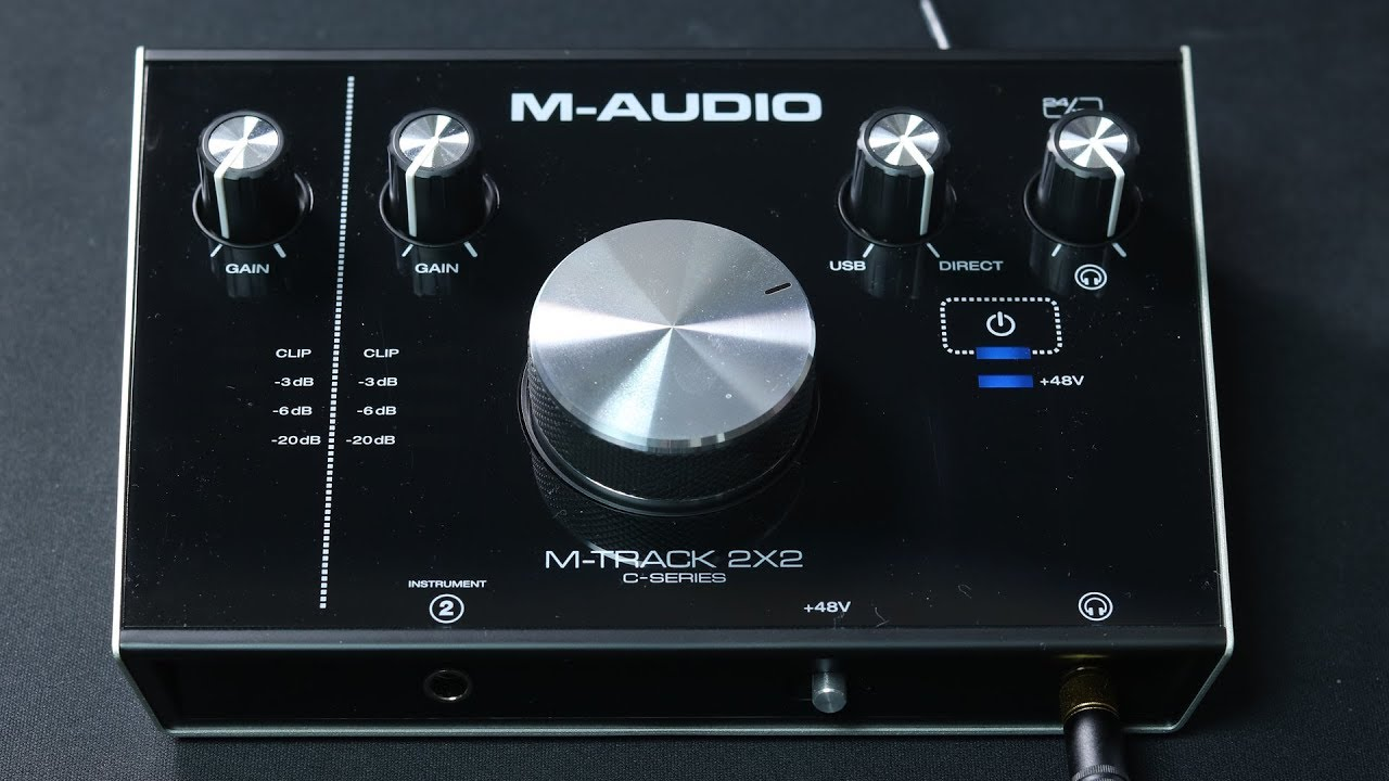 m audio m track 2x2 c series review