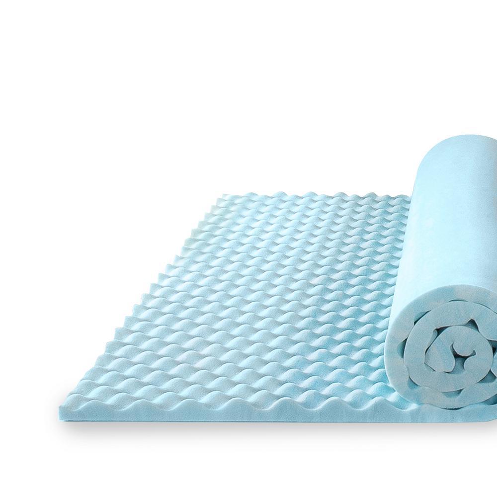 sensor gel 1.5 mattress topper reviews