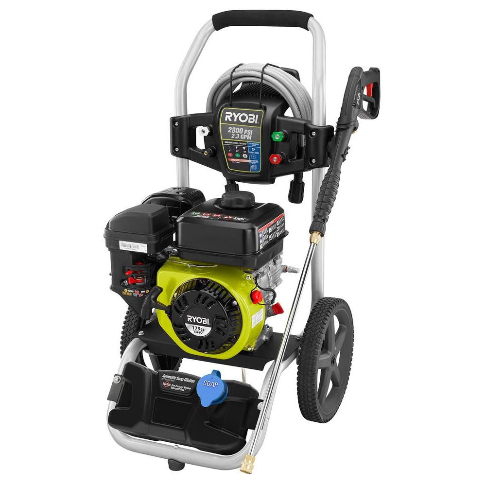 ryobi gas pressure washer review