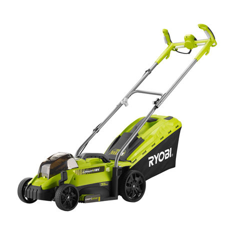 ryobi one+ 18v lawn mower console review