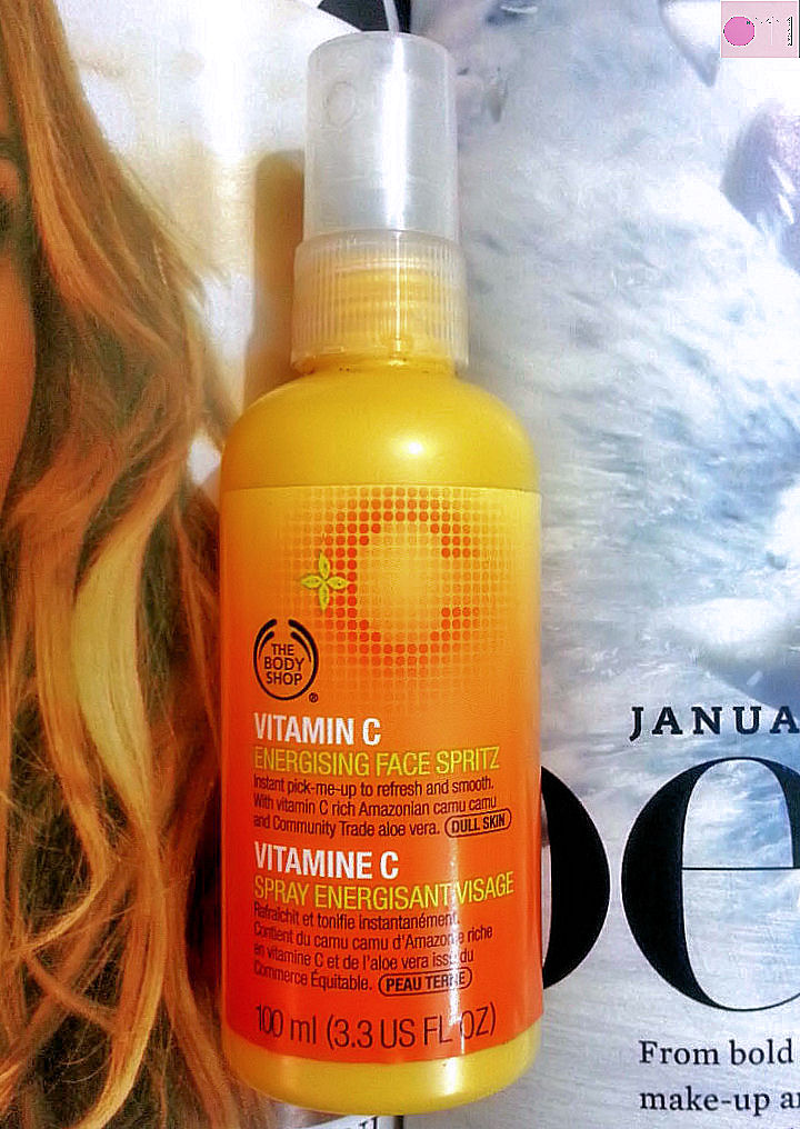 the body shop vitamin c energizing face spritz review