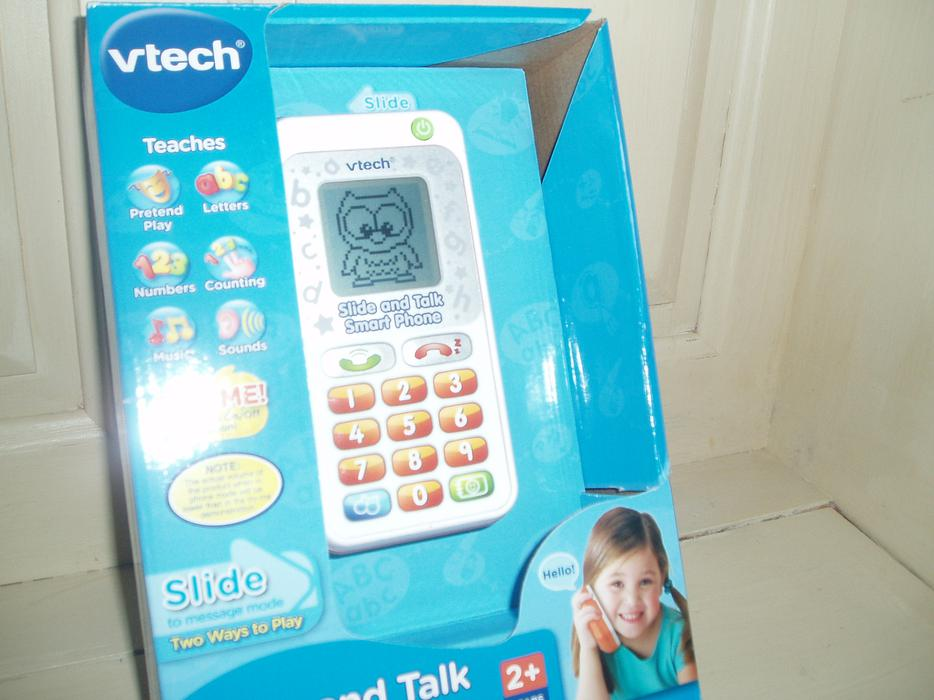 vtech slide and talk smart phone review