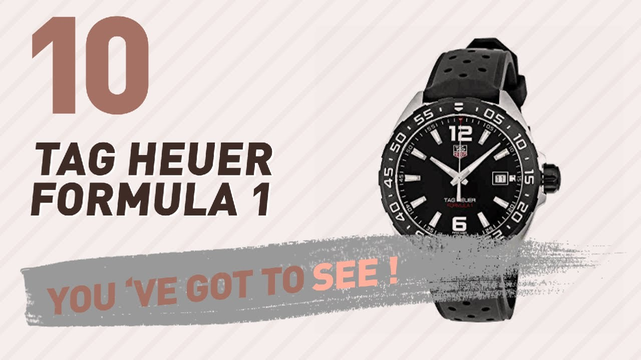 tag heuer formula 1 review 2017