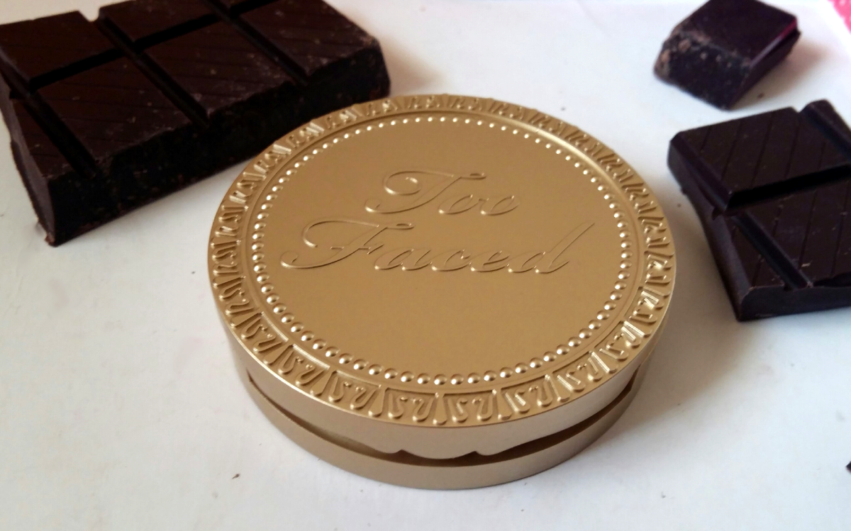 too faced milk chocolate bronzer review