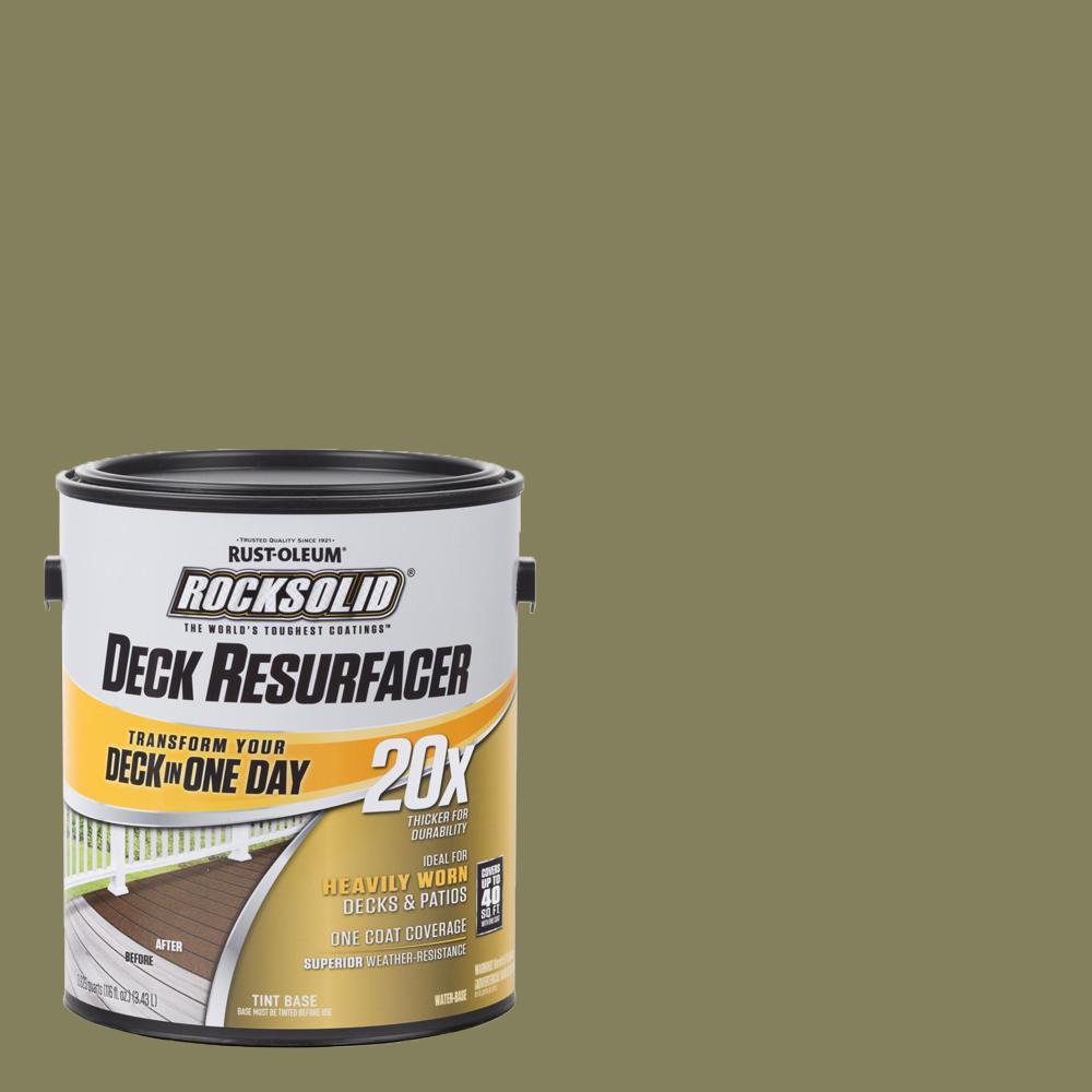 rock solid deck restoration reviews