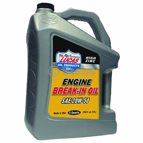 lucas break in oil review