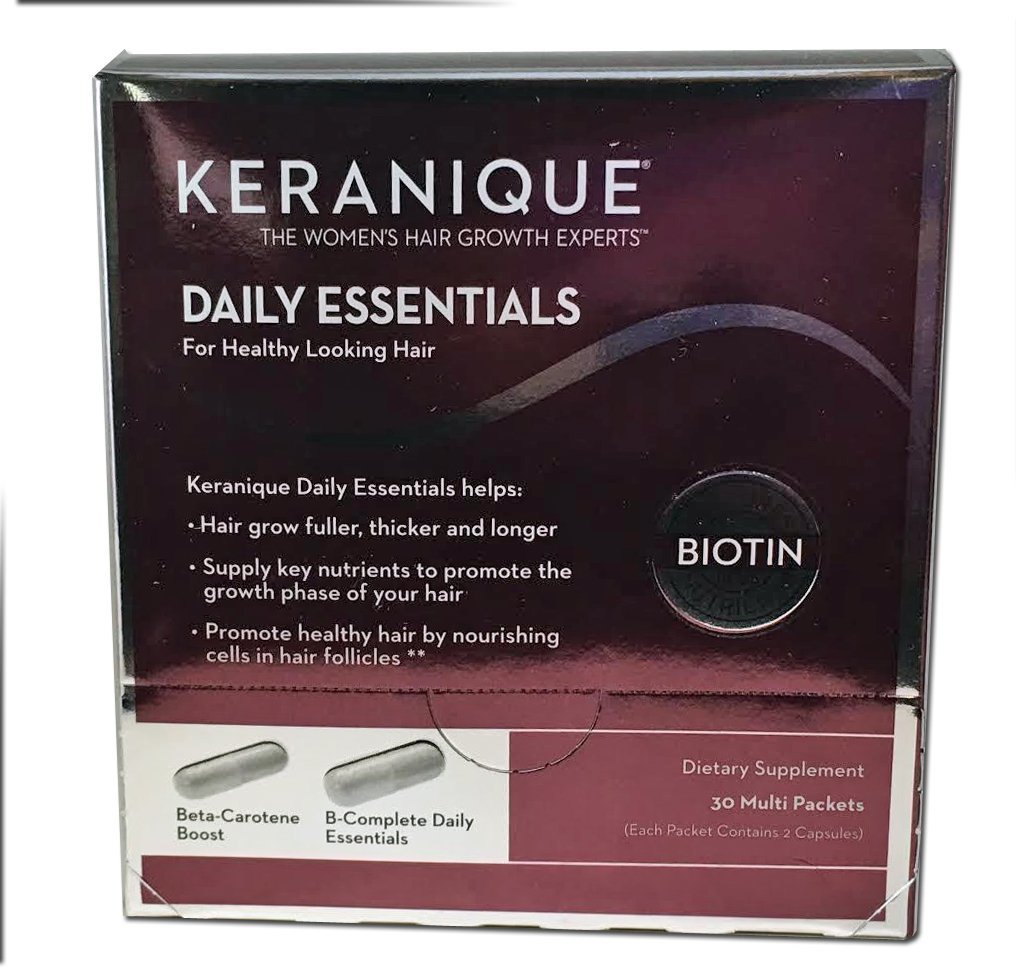 keranique daily essential supplements reviews