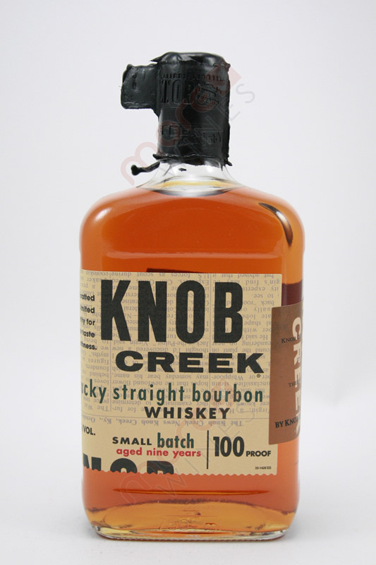 knob creek straight bourbon whiskey review