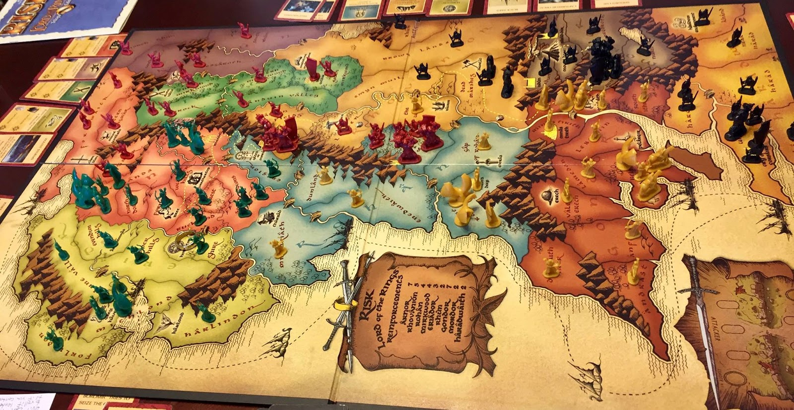 lord of the rings risk review