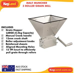 malt muncher grain mill review