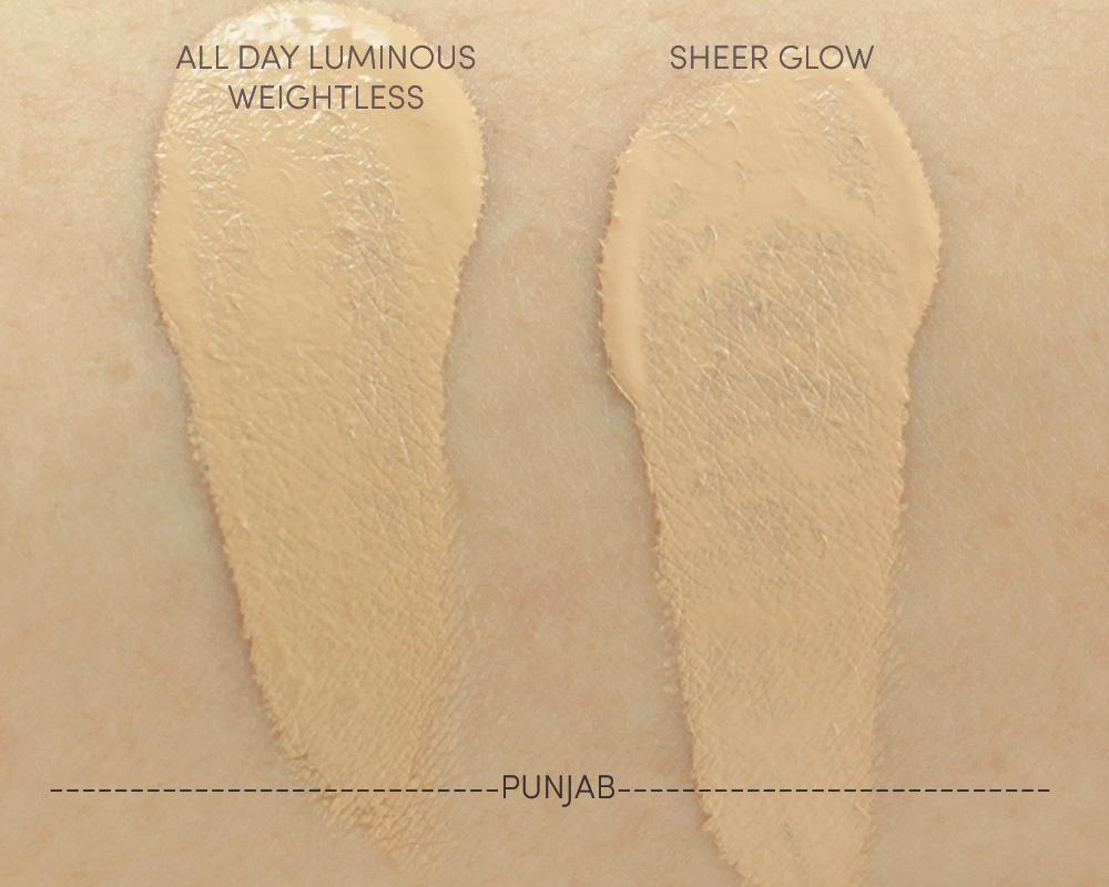 nars sheer glow foundation punjab review