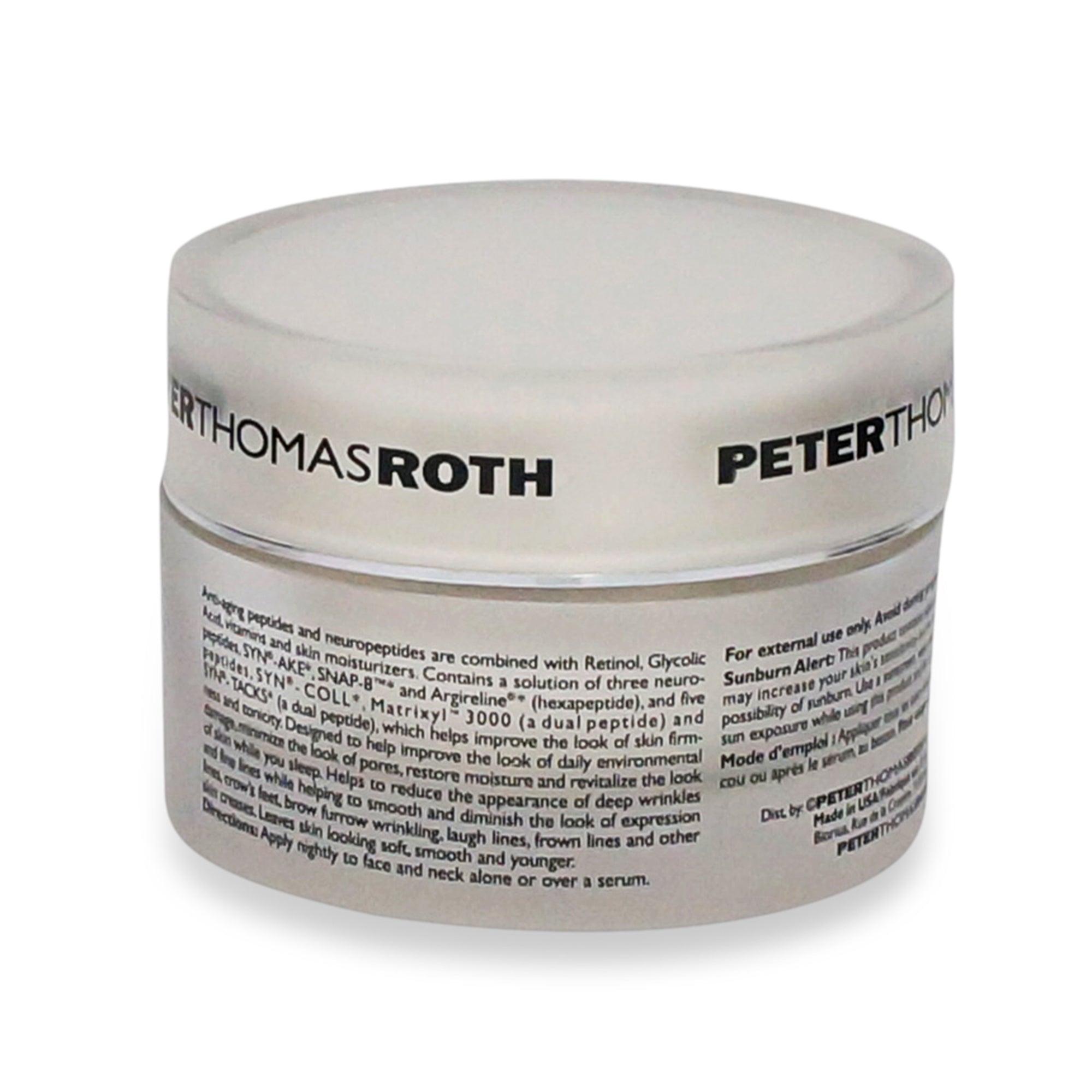 peter thomas roth un wrinkle night reviews