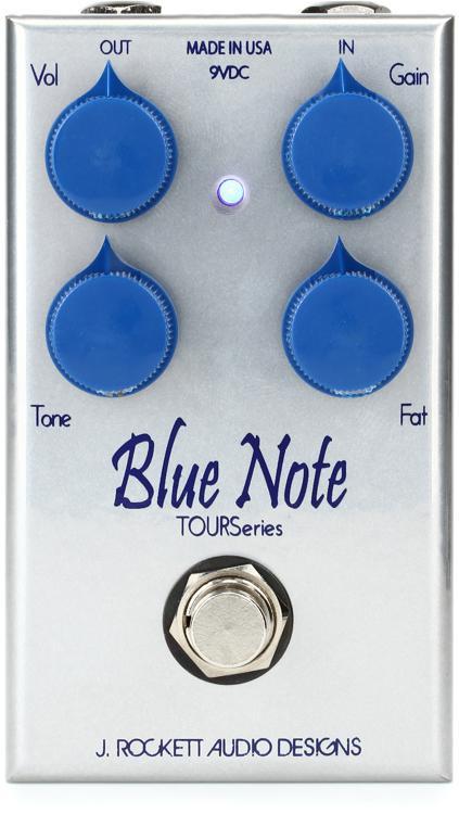 rockett pedals blue note review