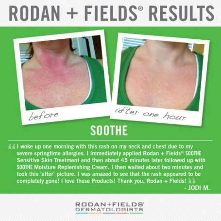 rodan and fields soothe moisture replenishing cream reviews