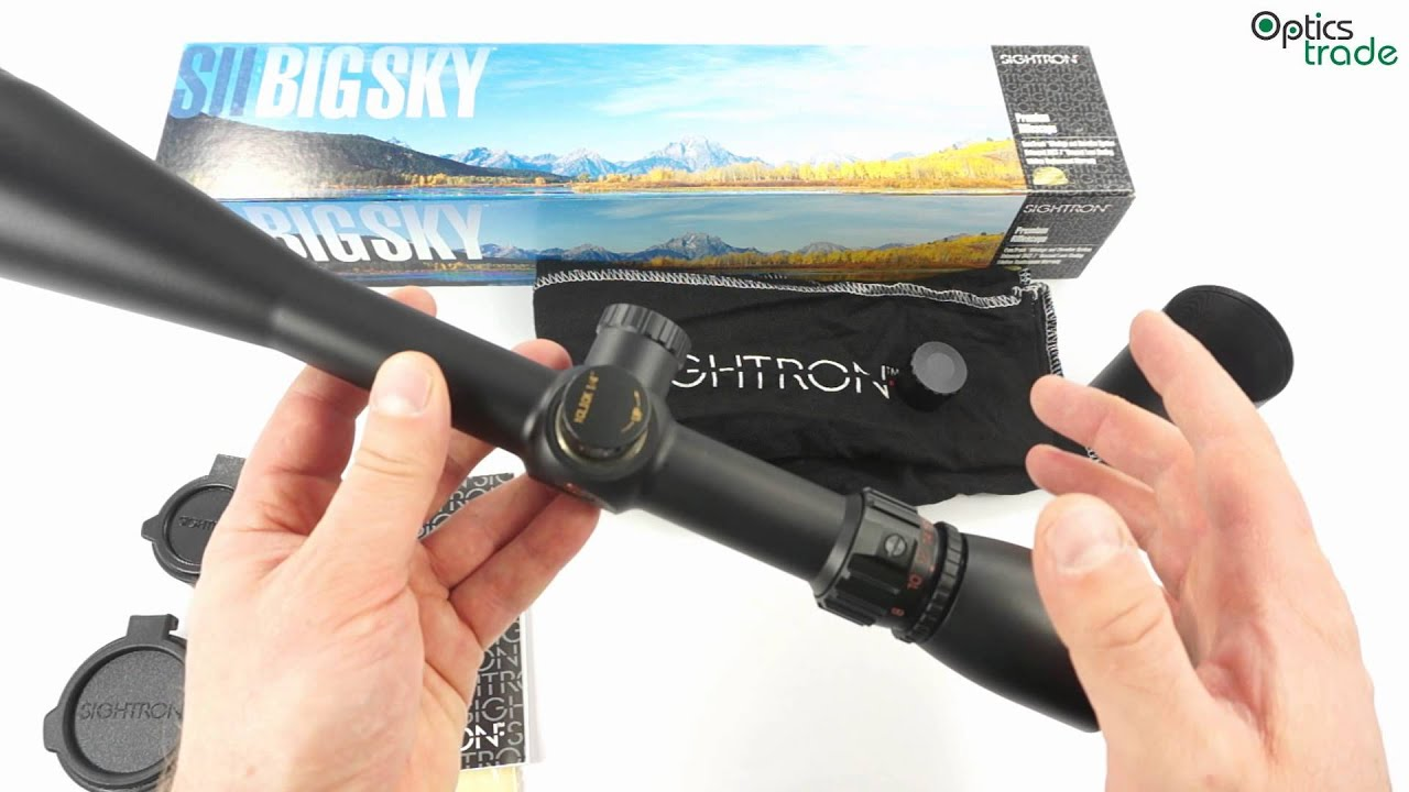sightron sii big sky review