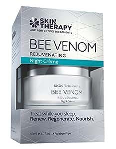 skin therapy bee venom rejuvenating night cream review